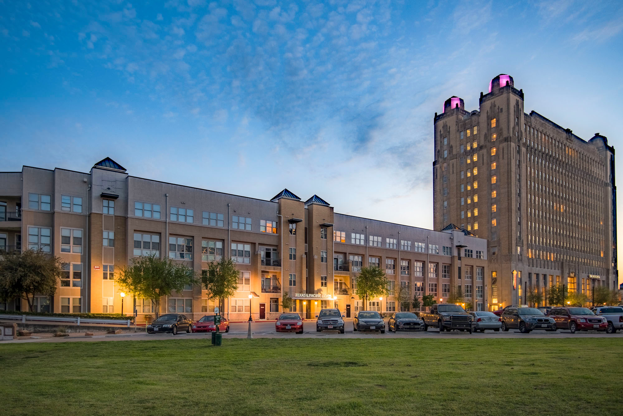 T&P Lofts at Dusk