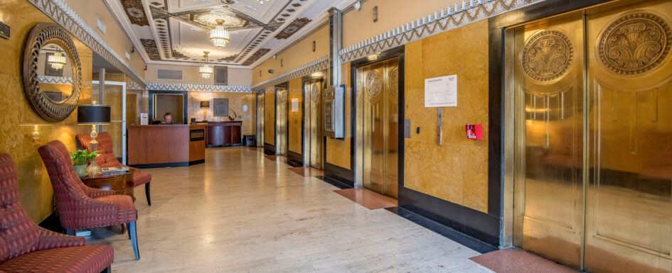T&P Lofts Elegant Lobby